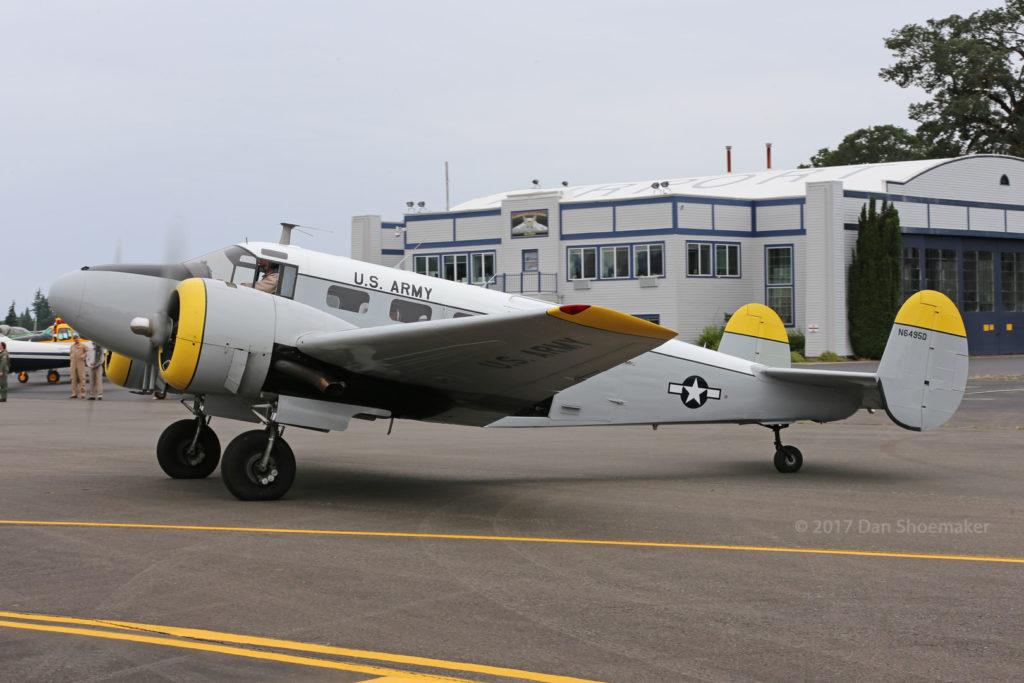 For Sale: Beechcraft C-45H – Cascade Warbirds