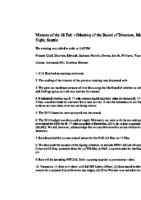 Minutes 2014-02-08 Board