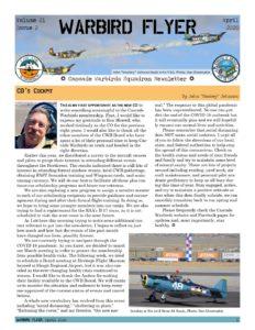 April 2020 Warbird Flyer
